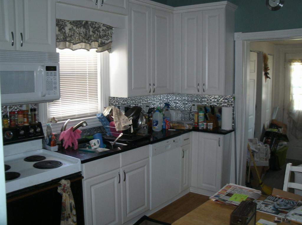 110 yr old victorian home kitchen remodeling project for Old house kitchen ideas