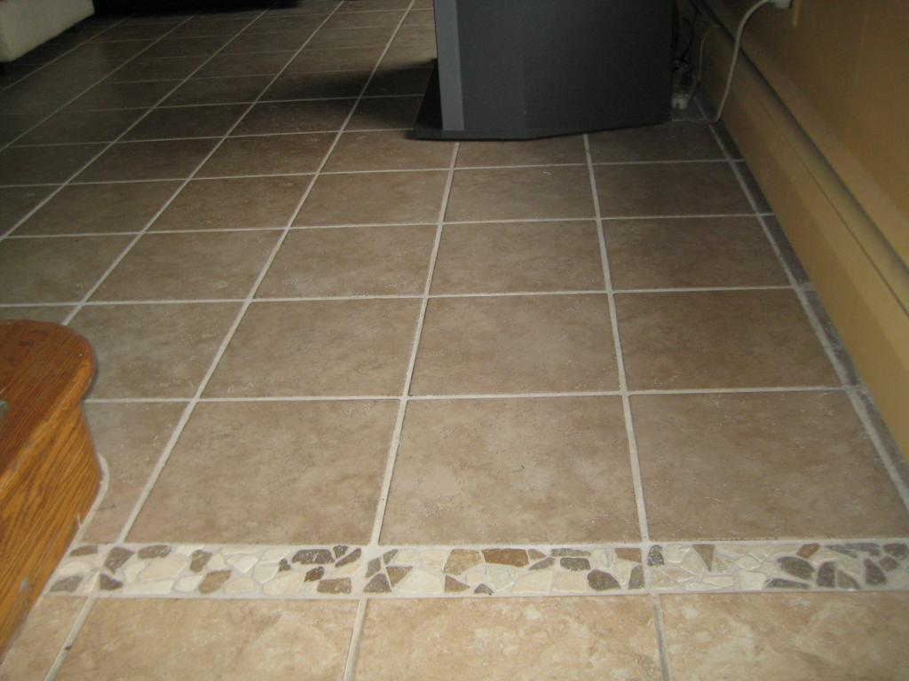 Ceramic tile flooring stone inlay from complete home remodeling and repair company in gibbstown Ceramic stone tile