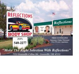 Reflections Auto Body Shop - Greenville, OH