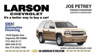 Larson Chevrolet - Superior, WI