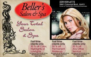 Beller's Salon & Spa - Fort Myers, FL