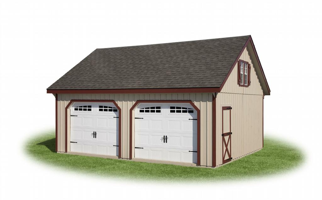 J n structures llc lititz pa 17543 717 627 5020 for Double garage with loft