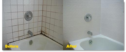 Tub shower regrout and recaulk from grout doctor in gold canyon az 85118 How to regrout bathroom tiles