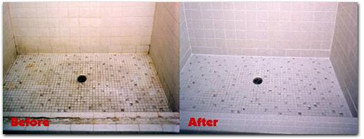 Shower floor tile repair and regrouting from grout doctor in gold canyon az 85118 How to regrout bathroom tiles