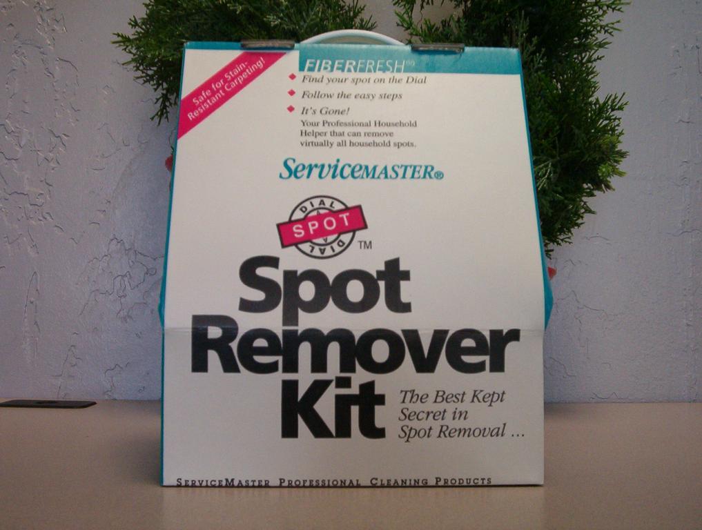 Spotting Kit by Servicemaster 1st Choice