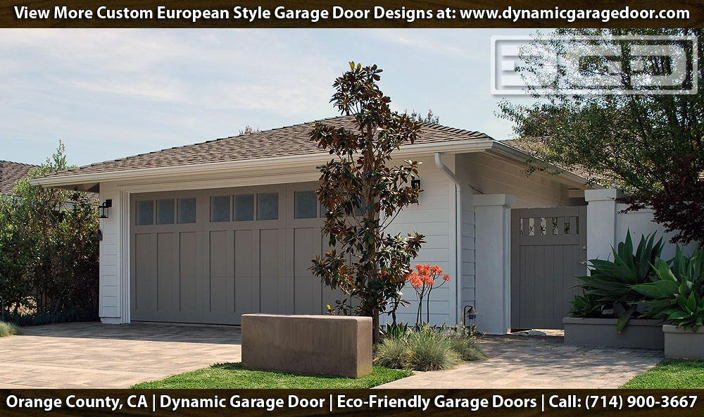 Irvine CA Custom Composite Wood Garage Doors in Traditional Shaker Styles by Dynamic Garage Door & Pictures for Dynamic Garage Door | Custom Garage Doors in Orange ...
