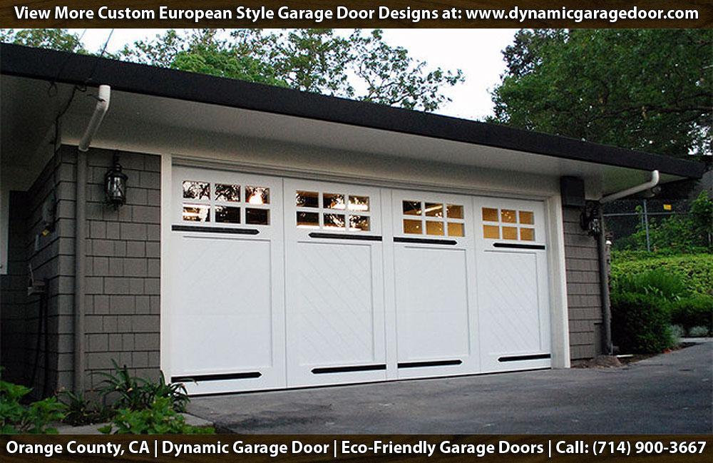Custom Garage Doors In Irvine Ca Craftsman Style Garage