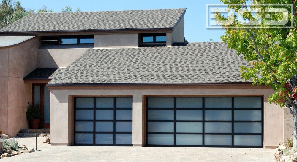 Custom Glass Garage Doors In Orange County, CA