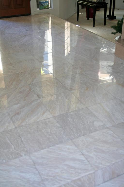 Limestone Or Travertine Tile : Pictures for marble floor polishing and restoration orange
