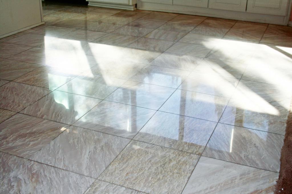 Marble7 floor polishing orange travertine marble slate
