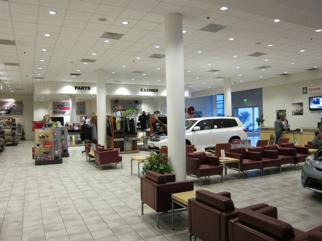 Toyota Carlsbad Parts Service Lounge By Toyota Carlsbad Parts And Service