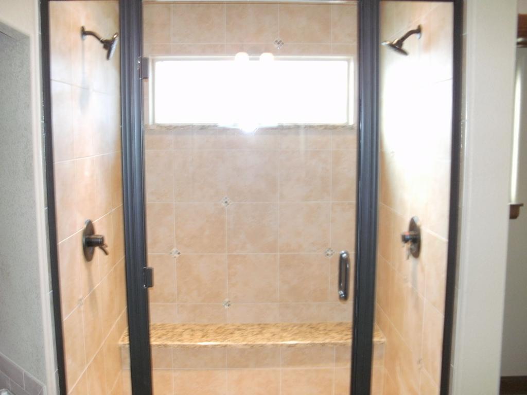 Custom Double Shower Door From Glass Doctor Of Northern