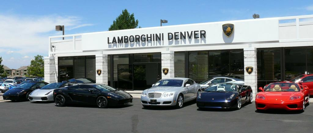 Dealer Photo From Lamborghini Denver In Englewood CO - Lamborghini car dealership