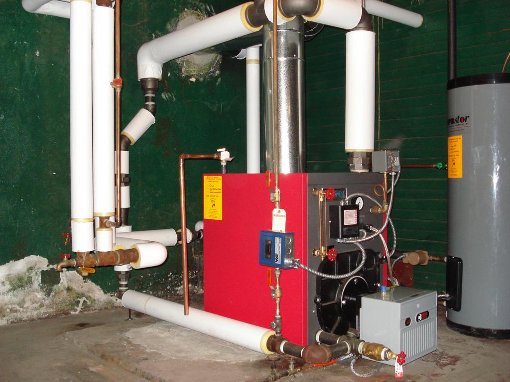 image gallery heating system