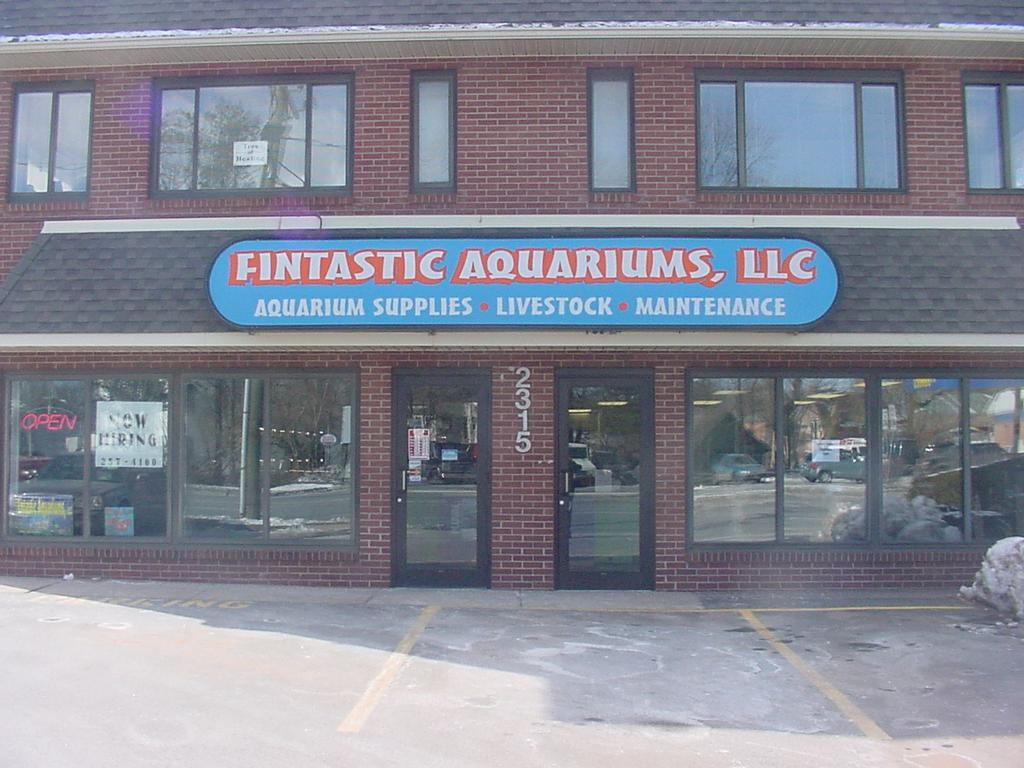 Fintastic aquariums plus east hartford ct 06108 860 for Jewelry stores in hartford ct