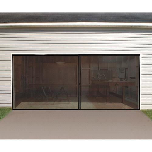 Garage door screens from doors door glass depot llc in Garage door screens home depot