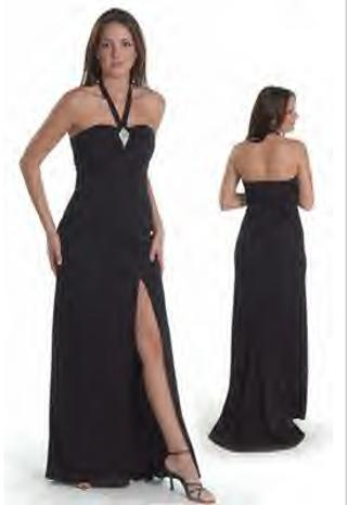 Formal Prom Dress - black Prom Dress