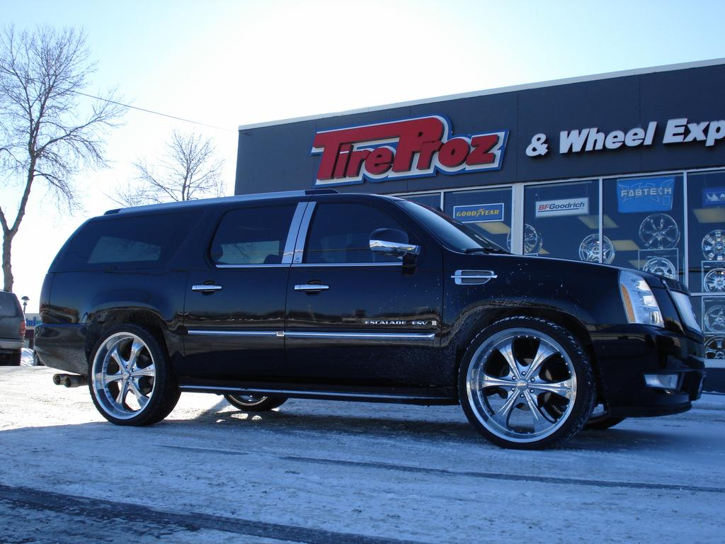2015 Cadillac Escalade Lowering Kit