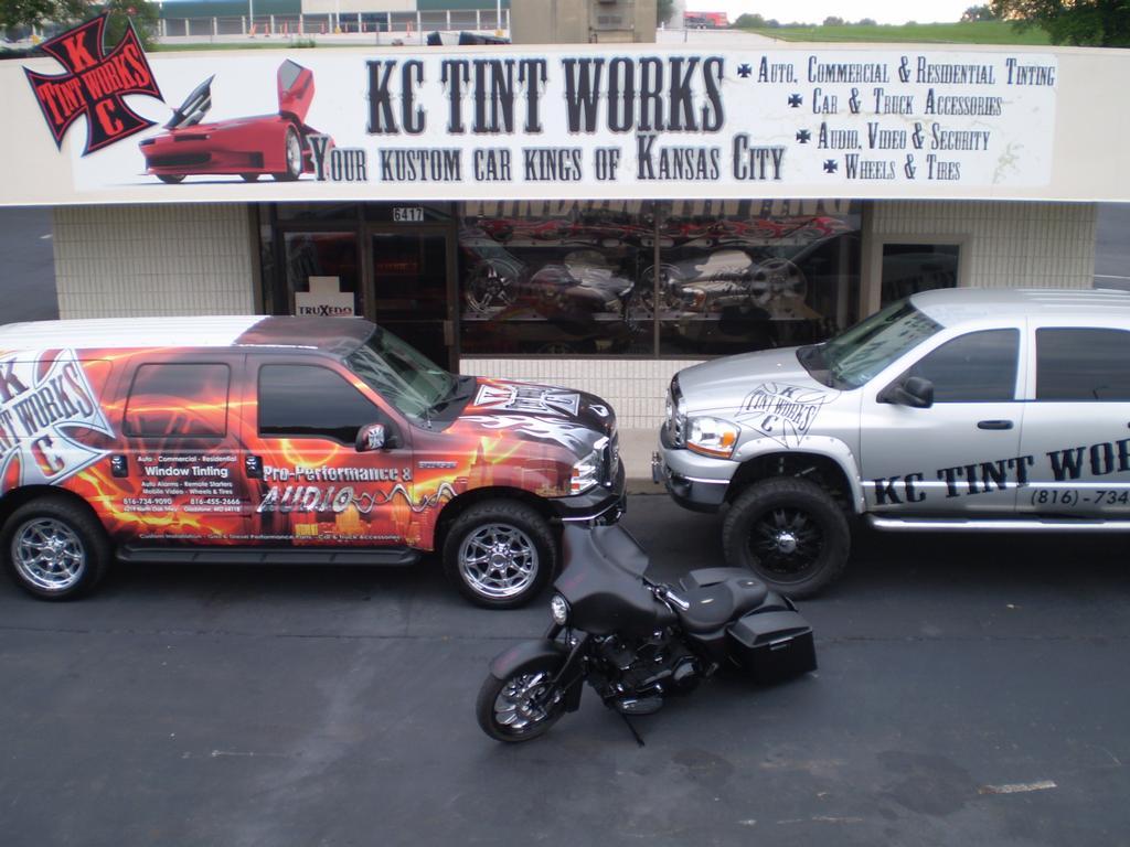 Kc Tint Works Llc Kansas City Mo 64118 816 413 8010