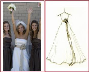 Wentzville House Beauty on Dreamlines Wedding Dress Sketch  Wentzville Mo 63385