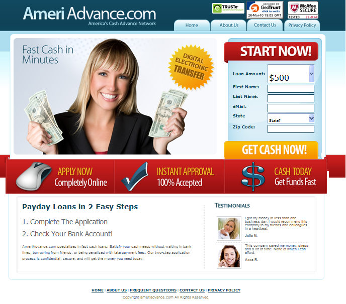 best in mesa cash advance
