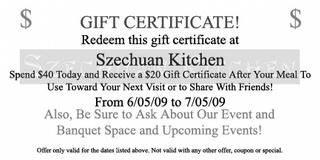 Szechuan Kitchen - Lake Oswego, OR