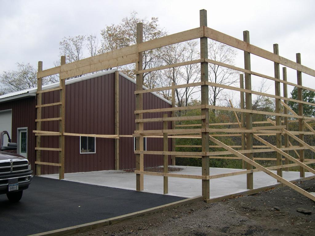 How to build a pole barn building online woodworking plans for How to build pole barn house