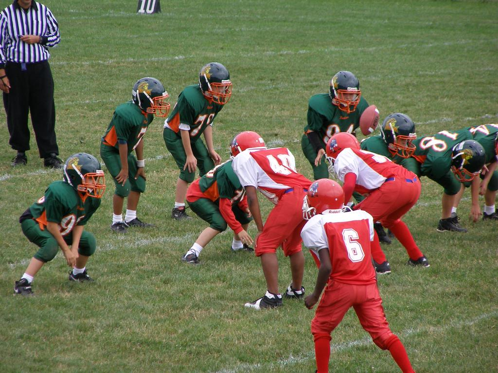 Warren ohio midget football