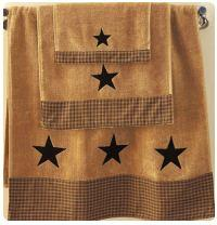 Vintage Star Country Curtains and Decor | Primitive Home Decors in
