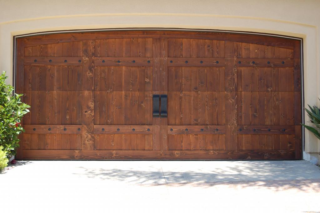 wood garage door hardware