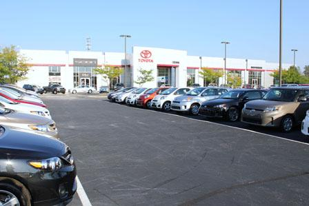 Orland Toyota Is A New And Used Toyota Dealership Serving Chicago Located  Near Tinley Park Illinois.Shipping Would Also Be A Pretty Penny To CA From  VA. ...