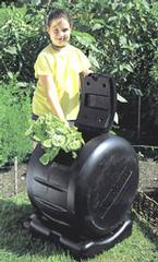 envirocycle composter and compost tea maker