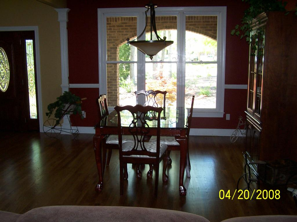 Dining Room In Front Of House