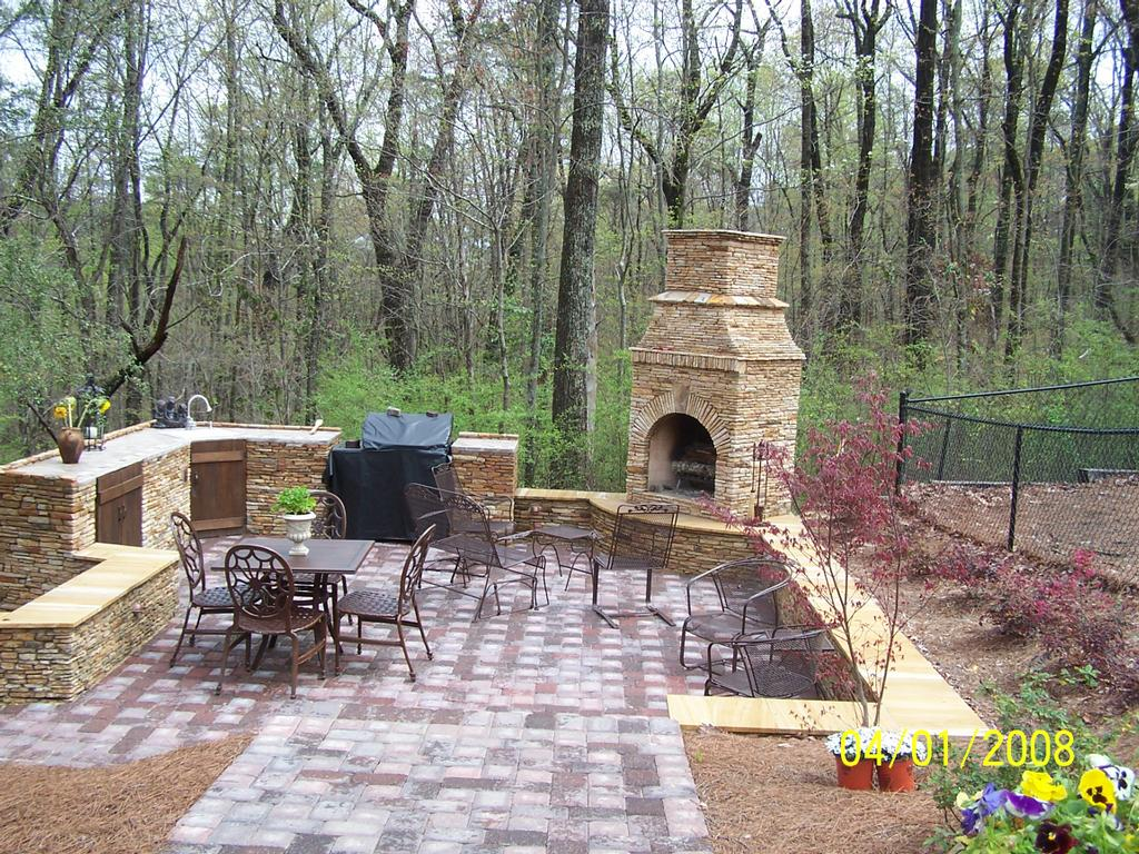 Outdoor Grilling Patio From About Contractors