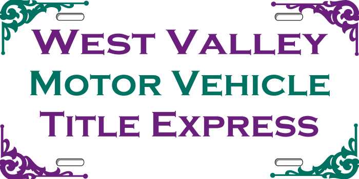 west valley motor vehicle title express llc surprise az