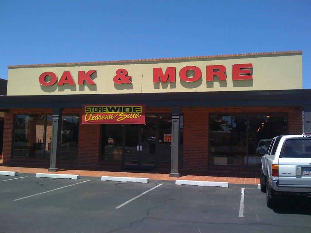 for Oak & More Furniture Tucson in Tucson AZ