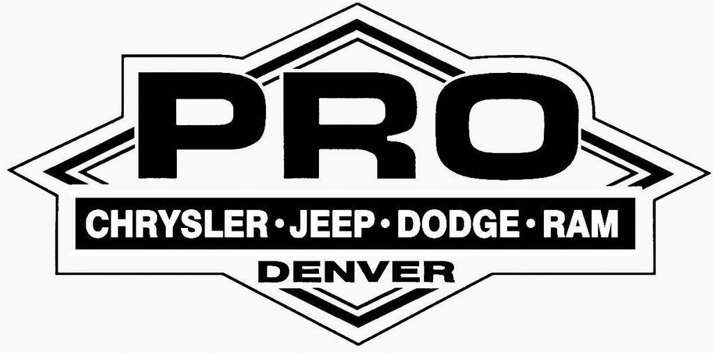pro new logo from pro chrysler dodge jeep in denver  co 80234