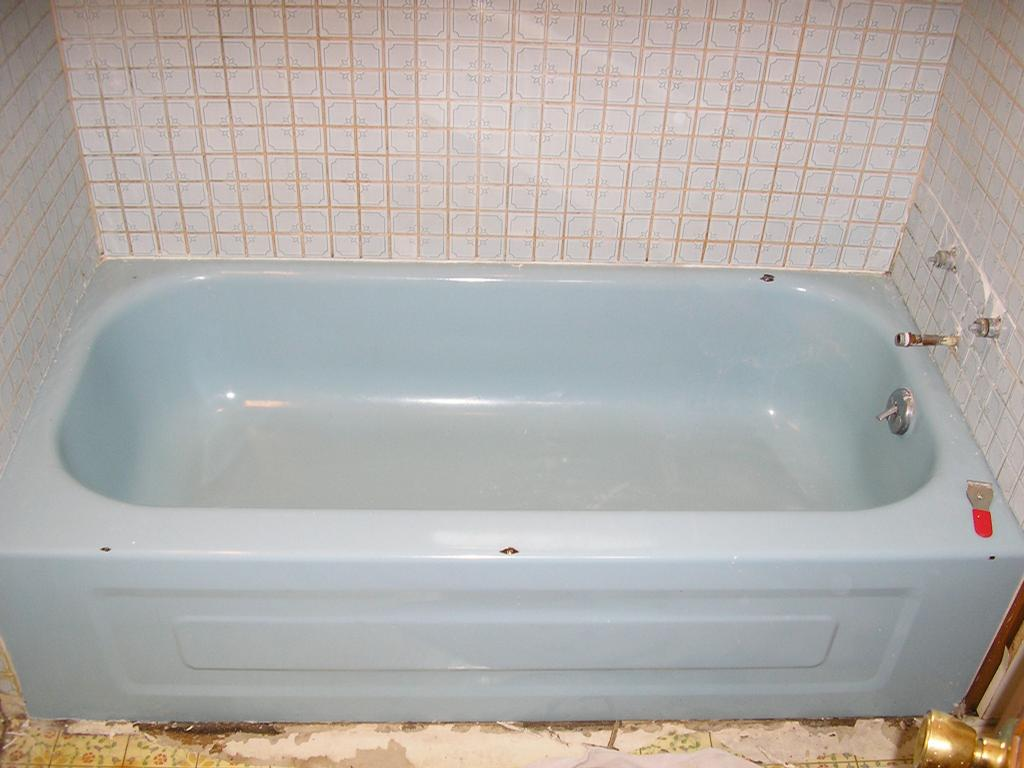 Blue Tub and Tile 1 from Gotham City Reglazing - - - - Denver ...