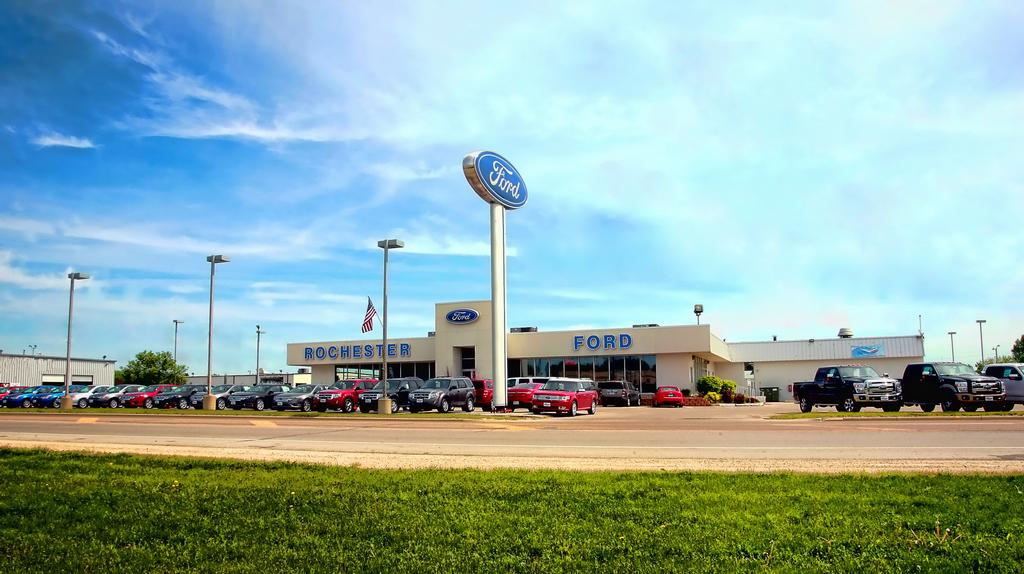 Ford Store From Rochester Ford In Rochester Mn 55901