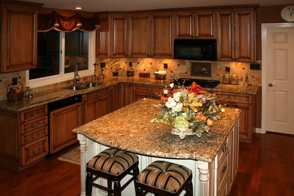 Pictures for Works of Art Tile, Kitchen Cabinet Design, Kitchen