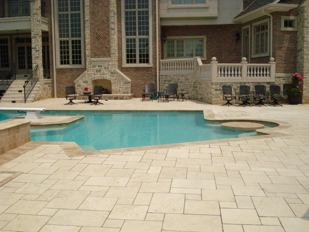 Patio1l Marble Patio Floor From Works Of
