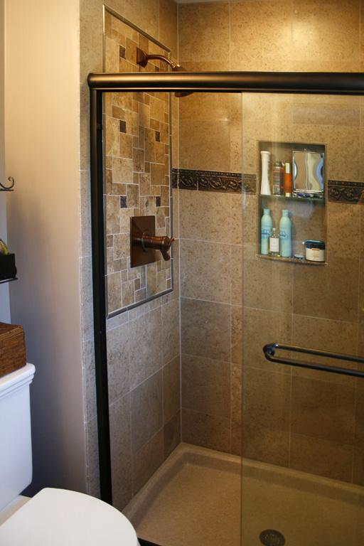 shower12L Travertine Tile Shower.jpg from Works of Art Tile ...