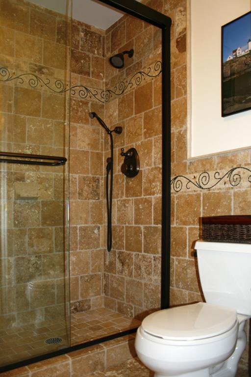 shower13L Travertine Tile Shower.jpg from Works of Art Tile ...