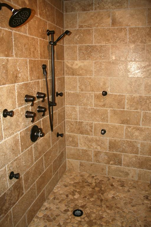 Small Bathroom Shower Tile Travertine 2017 2018 Best