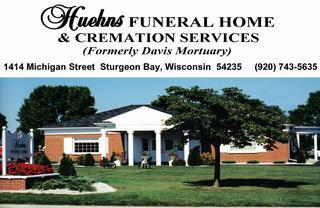 Huehns Funeral Home - Sturgeon Bay, WI