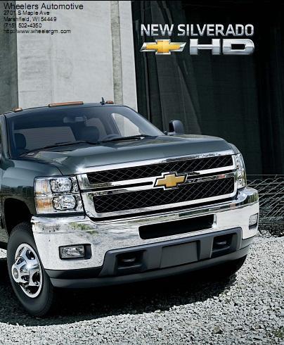 2011 Chevrolet Silverado 2500 HD For Sale In Marshfield WI | Wheelers ...