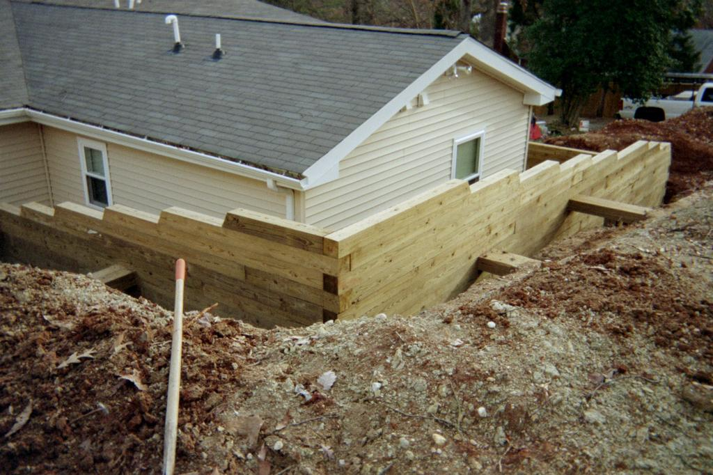 Pictures for r r home improvement va class a lic 2705 for Best backfill material for foundation