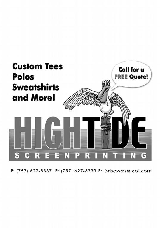 High Tide Screen Printing Llc Virginia Beach Va 23456