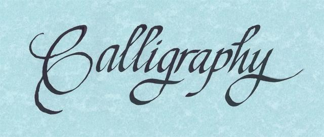 Calligraphy logo large from calligraphy by jeni in Calligraphy logo
