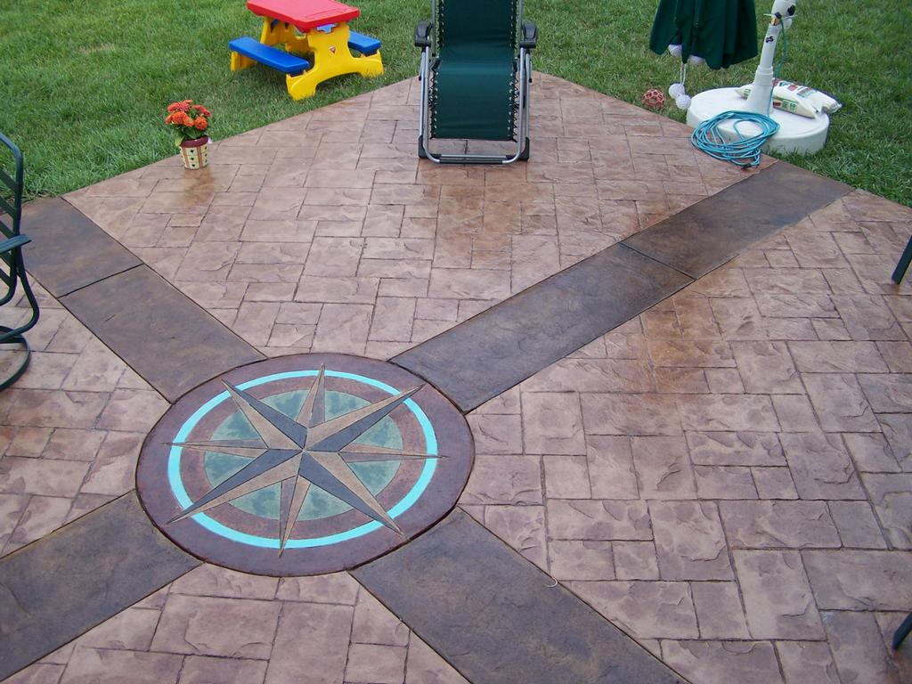 Custom Stamped Concrete From Ultimate Edge Incorporated In
